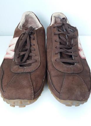 Супер замшевые кроссовки натуральная кожа