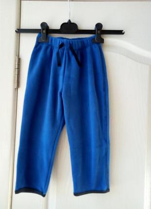 Флисовые штаники на мальчика  86-92 и 98-104 см германия