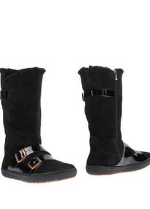 Зимние ботинки на овечьем меху birkenstock, р. 40 (26+см), оригинал