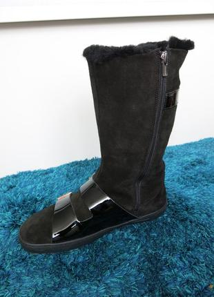 Зимние ботинки на овечьем меху birkenstock, р. 40 (26+см), оригинал3