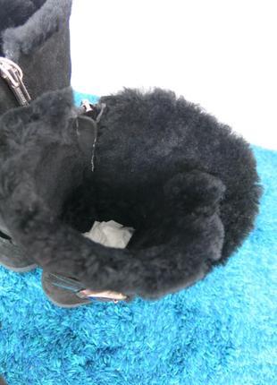 Зимние ботинки на овечьем меху birkenstock, р. 40 (26+см), оригинал5