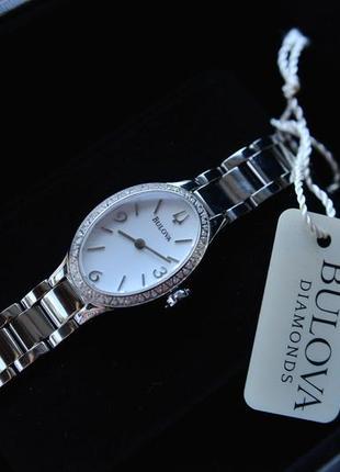 Cуперскидка женские часы с 60! бриллиантами бренда bulova .
