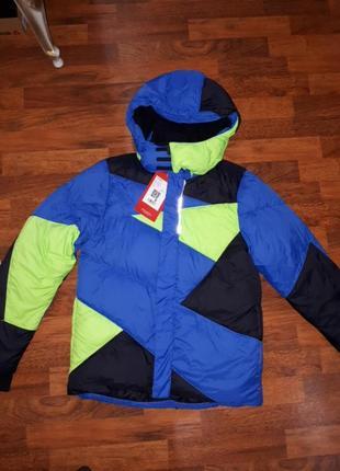 Зимняя куртка пуховик reima 152cm