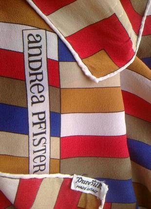 100%шелк большой  платок
