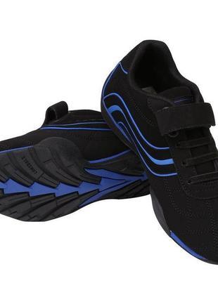 Кроссовки школьные туфли чёрные ботинки для мальчика