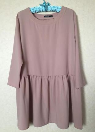 Стильное платье либо туника oversize от boohoo