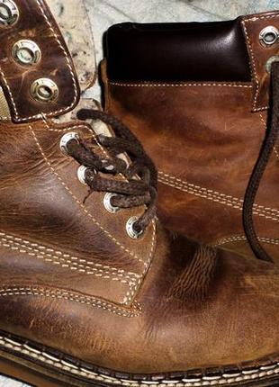 Ботинки,кожа,39р.,зима