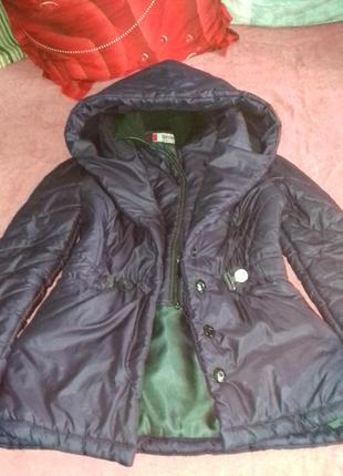 Зимняя куртка с шалевым воротником