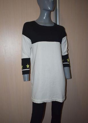 Спортивное платье-туника с карманами