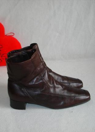 Ботинки ботильоны кожаные утепленные бренд gabor