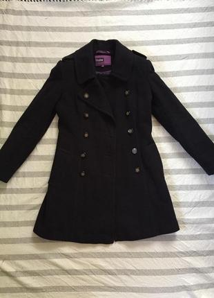 Классическое пальто vivalon шерсть шерстяное