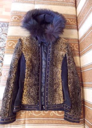 Зимняя куртка с искусственным мехом