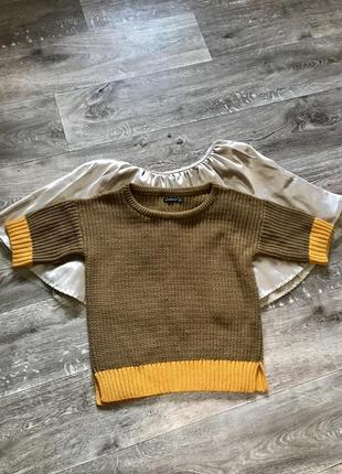 Нереально крутой свитер