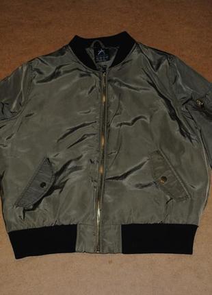 Atmosphere куртка бомбер с карманом женская
