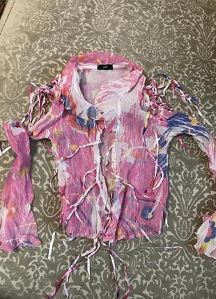 Красивая, легкая блуза