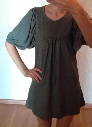 Стильное короткое платье или туника