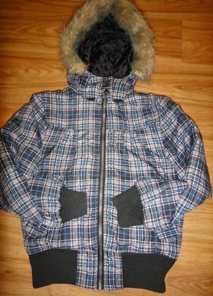 Зимняя куртка на девочку р.140 фирмы okay, германия