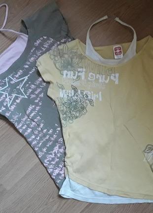 Две футболки на девочку подростка