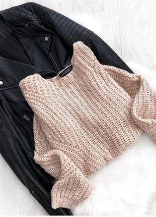 Нюдовый свитер dorothy perkins