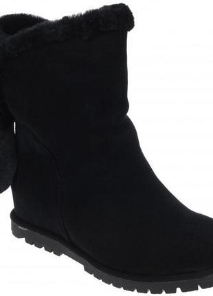 Зимние ботинки respect оригинал. натуральная замша, цигейка 37 38