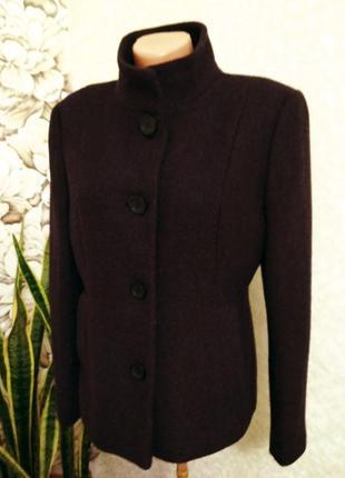 Пальто, демисезонное полупальто, в составе шерсть. 1+1= 50% скидки на 3ю вещь.