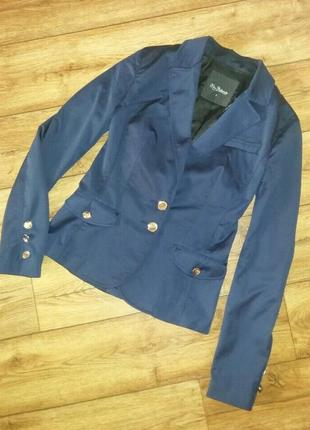 Пиджак синий kira plastinina