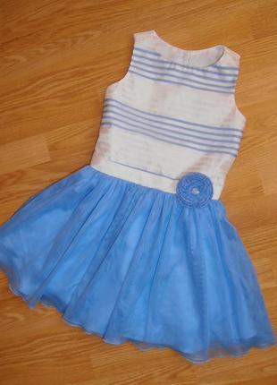 Нарядное платье с фатиновой юбкой, jona michelle