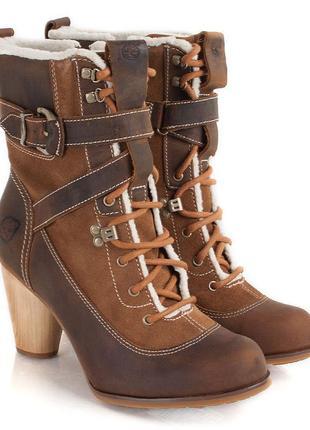 Шкіряні чобітки timberland earthkeeper nevali hiker women's boot розмір 39