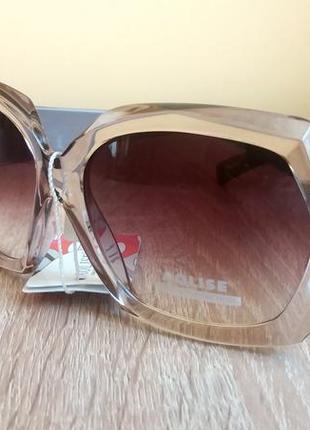 Стильные женские солнцезащитные очки , защита uv - 400