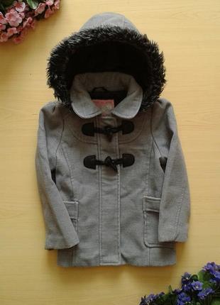 Демисезонное пальто дафлкот wear me with love, 3-4 года 104 см1