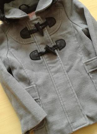 Демисезонное пальто дафлкот wear me with love, 3-4 года 104 см3