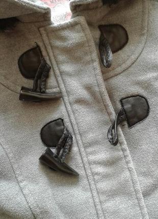 Демисезонное пальто дафлкот wear me with love, 3-4 года 104 см5