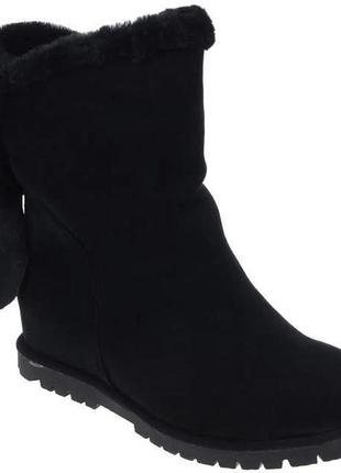 Зимние ботинки respect оригинал. натуральная замша, цигейка в наличии 37 и 38