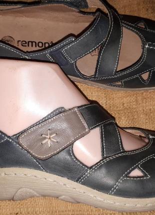 38р-24.5 кожа туфли remonte отличное состояние