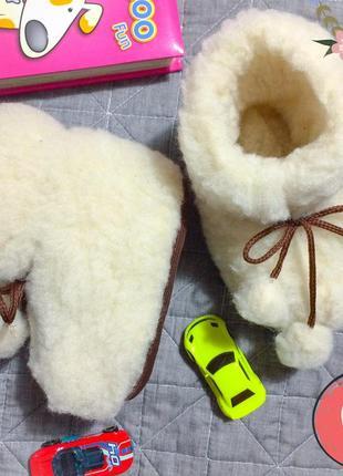 14 см тапочки чуни унты валенки угги тёплые шерстяные домашние