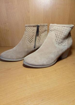 Замшевые ботиночки blue motion