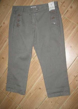 Брендові бріджі джинсові жіночі cherokee m [великобританія] (брюки джинсы женские)