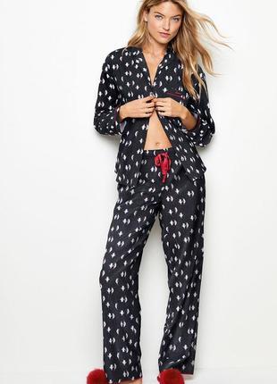 Victoria secret фланелевая пижама для сна victorias secret виктория сикрет