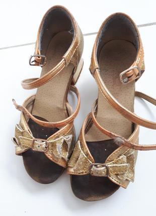 Туфли босоножки для бальных танцев размер 19