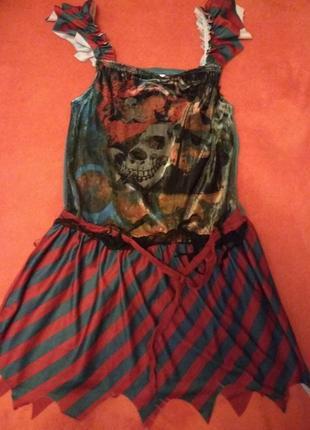 Новорічне плаття піратки tesco 11-12років