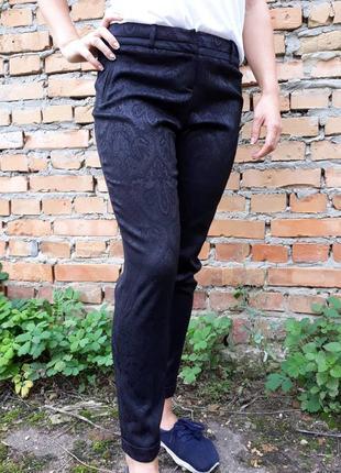 Жаккардовые брюки. европа, оригинал