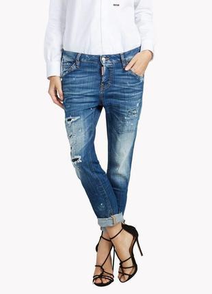 Шикарные брендовые рваные джинсы большого размера dsquared оригинал