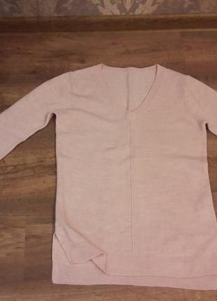 Стильный пудровый свитерок из акрила atmosphere р.s/8