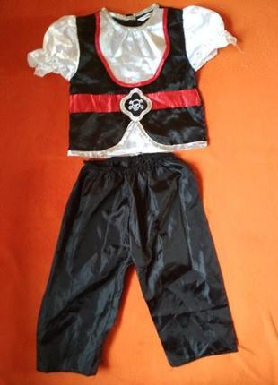 Новорічний костюм пірата george 3-4р