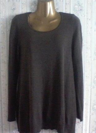 Джемпер, туника-платье,шерсть, разм. 46