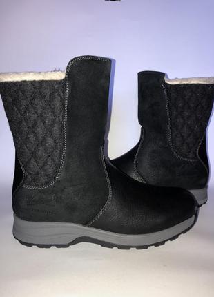 Woolrich,зимнее кожаные сапоги 39-40 (нога 25.5-26см.)