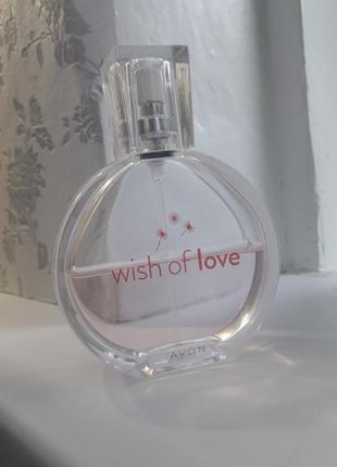 Духи wish of love avon