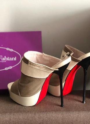 Туфли-босоножки sasha fabiani 37 размер