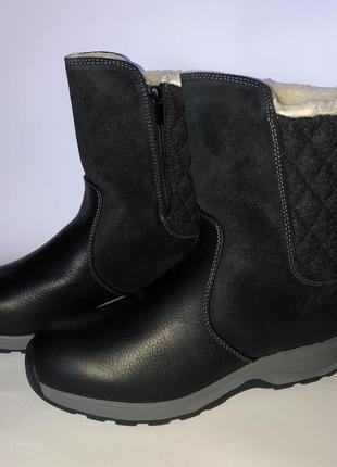 Зимние кожаные сапоги woolrich 40р-26см