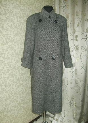 Теплое пальто h&m